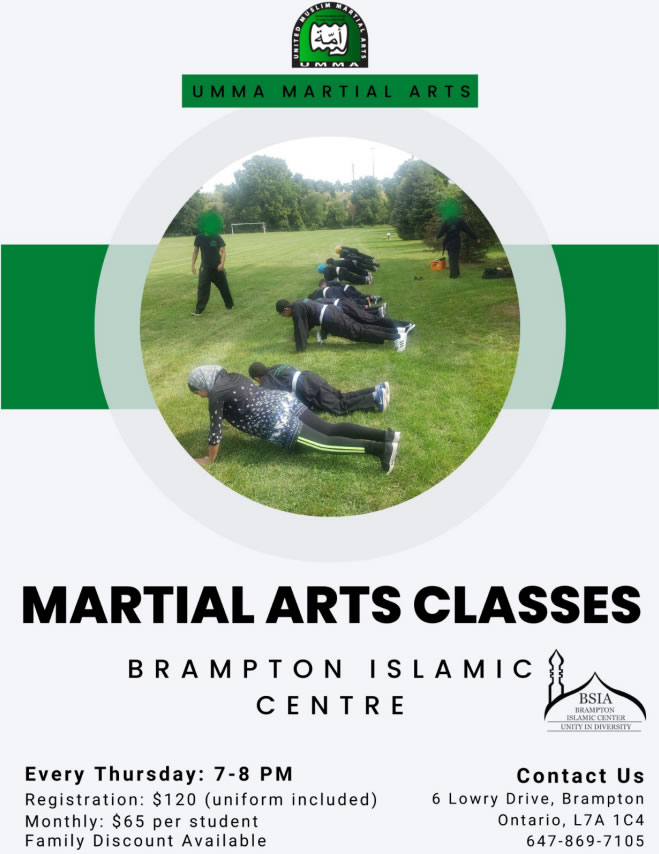 Martial Art Program for Youth & Adults